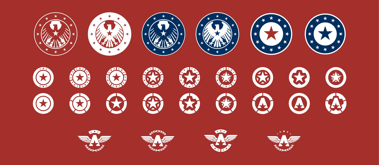 desarrollo de simbolo rojo