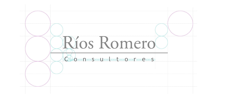 construcción de logotipo de rrc