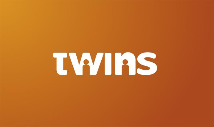 logotipo de twins studio