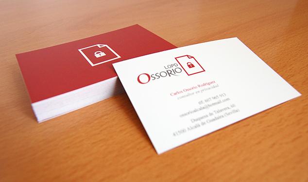tarjetas de visita de ossorio
